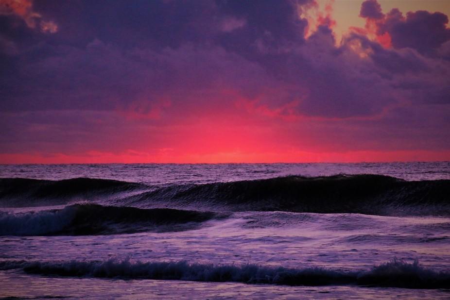 Sunrise on Long Beach Island NJ