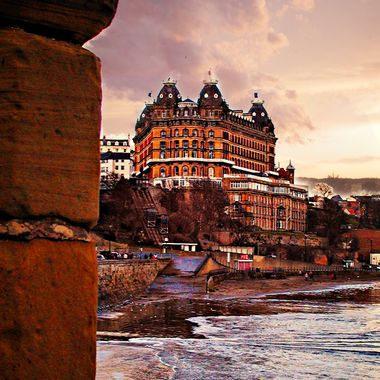 The Grand hotel in Scarborough, UK.