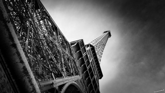 Eiffel Guitar Neck by LowKal - Paris Photo Contest