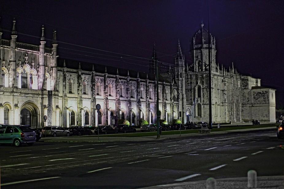 Night in the city - Lisbon (1)