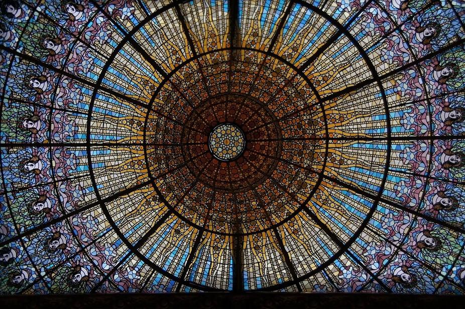 Dome, Palau de la Musica, Barcelona
