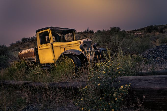 OLD ABANDONED CAR by raulweisser - Trucks Photo Contest