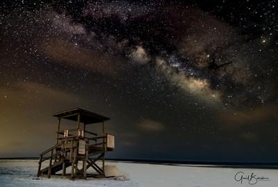 Milky Way Lifeguard Tower