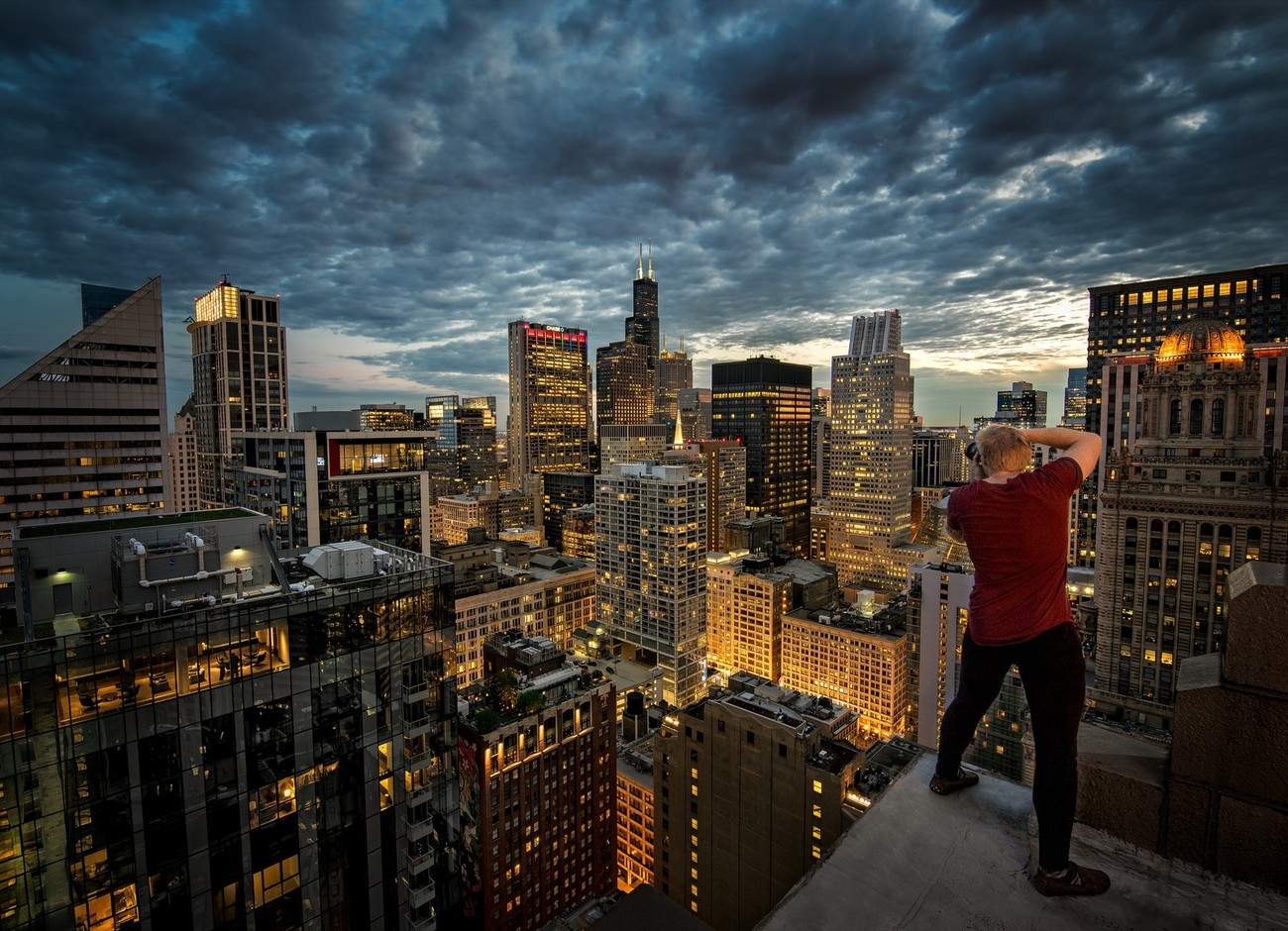 52 Rooftops Shot In Creative Ways