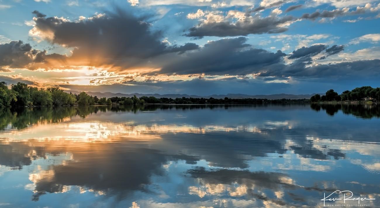 September Fading Light - Long Pond