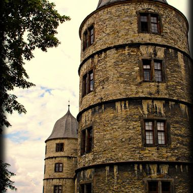 A view of the Wewelsburg caslte, Germany