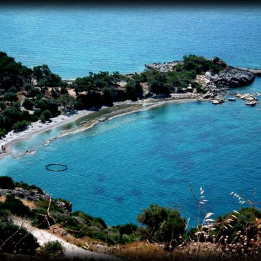 Tsopela Bay Island Samos.