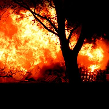 Military Bonfire in Germany, Paderborn