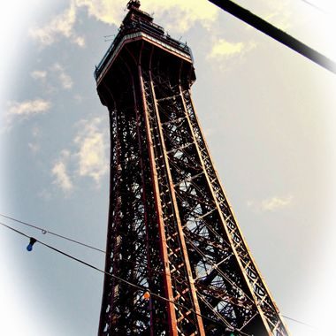 The Tower at Blackpool.