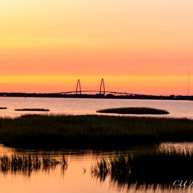 Pitt Street Bridge in Mt. Pleasant, South Carolina