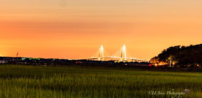 Pitt Street Bridge in Mt. Pleasant, South Carolina
