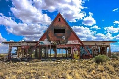 Two Guns, Flagstaff, Arizona (KOA Campground Abandoned)