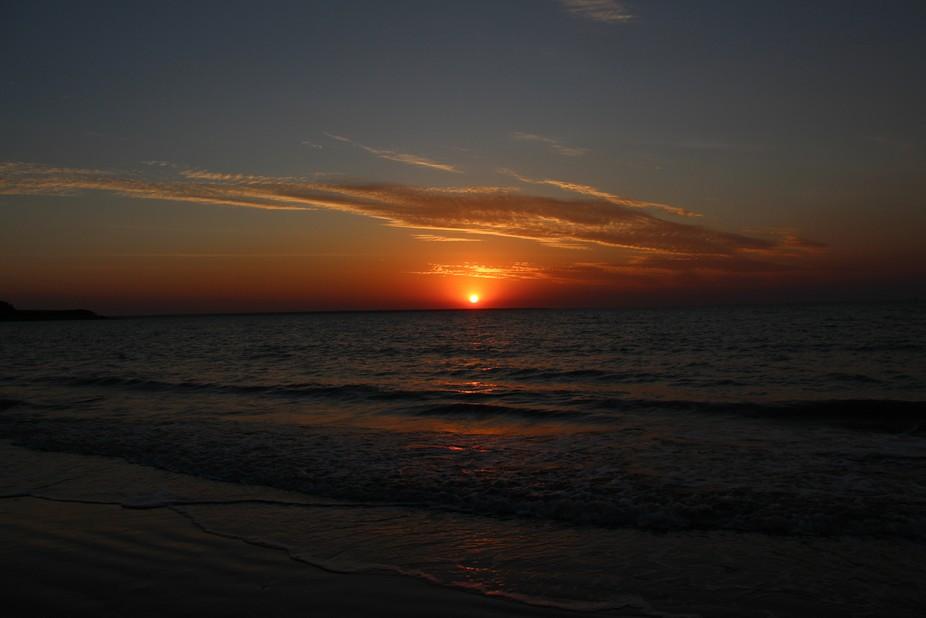 Sunset in Darwin NT Aust.