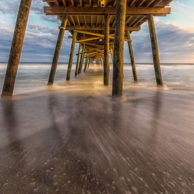 Bogue Inlet Pier in Emerald Isle NC