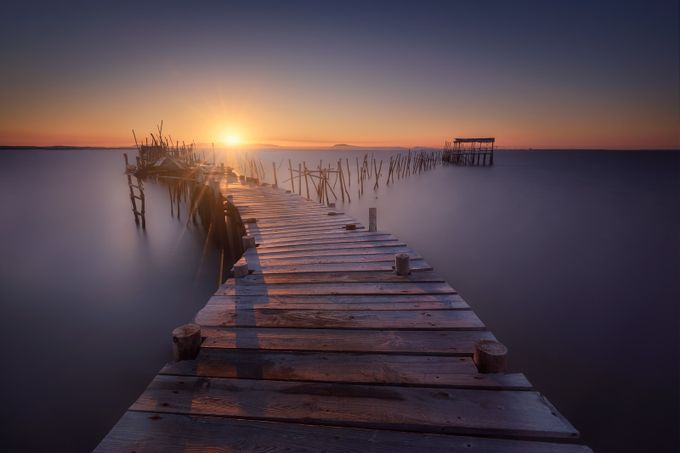 The lost dock by ivanferrerophoto - Promenades And Boardwalks Photo Contest