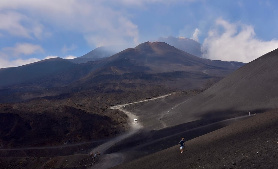 Trip inside the volcano