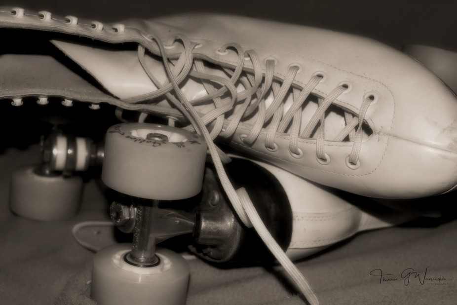 This is a pair of roller skates I had picked up years ago for a shoot with my then girlfriend tha...
