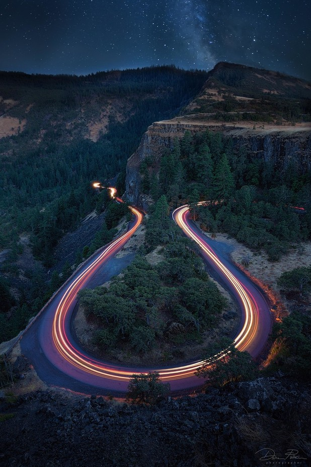 Rowena Crest by Darrenp - Roads Photo Contest