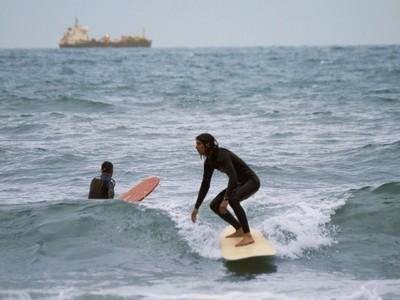 Cold surfer