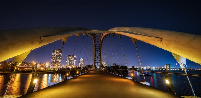 Humber-Bay-Arch-Bridge by tracymunson - My Favorite City Photo Contest