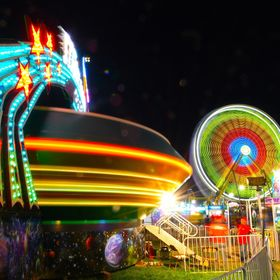 Staying late enough one night at the 2017 Utah State Fair and hiding between some rides I was able to catch both of these rides in motion at the ...