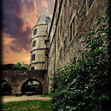 Triangular Castle at Wewelsburg.