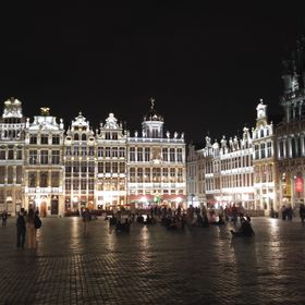 You should enjoy the Grand Place by the night with its stunning architecture and lighting.