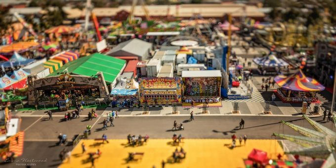 Showground by emmafleetwood - TiltShift Effect Photo Contest