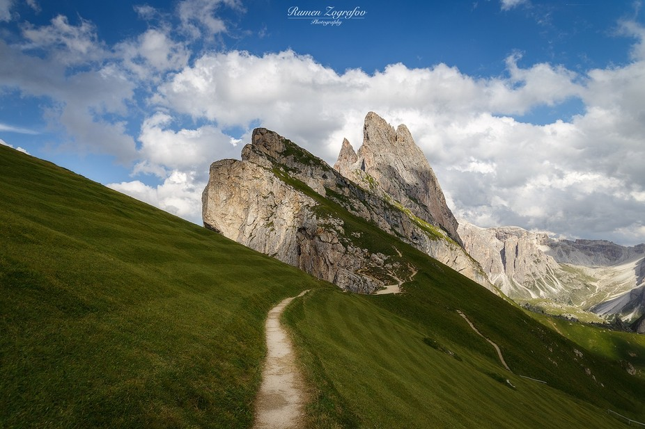 Seceda slopes