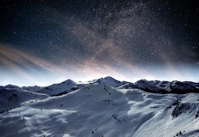 Winter StarLight Mountains