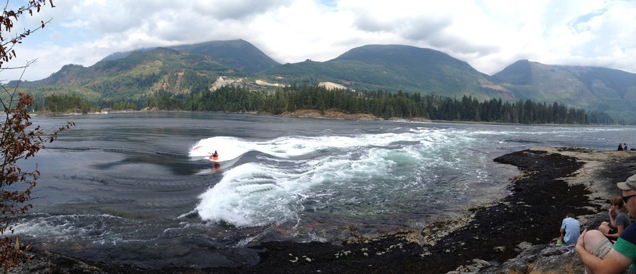 Skookumchuk rapids (Sechelt, BC, Canada)
