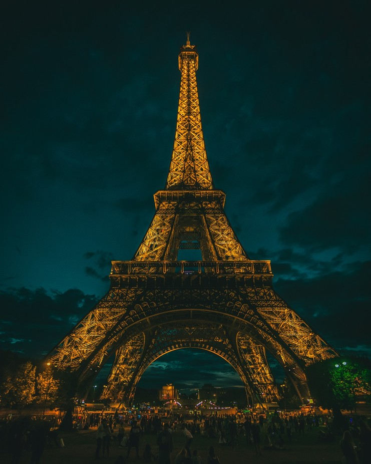 Blue Hour Eiffel Tower by jacobcjwolf - Paris Photo Contest