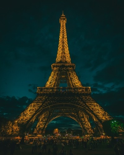 Blue Hour Eiffel Tower