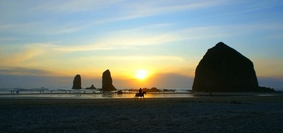 CANNON BEACH SUNSET RIDER