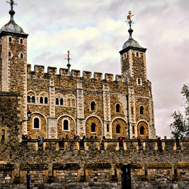 The famous Tower of London home of the Crown Juwels.