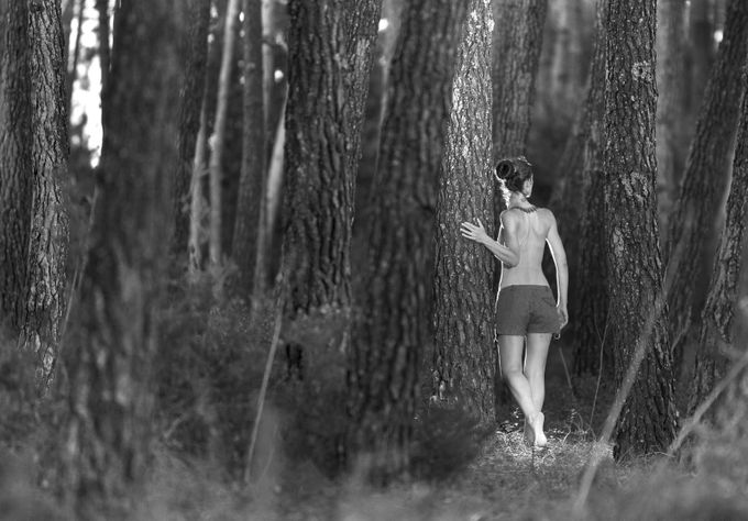 By the forest... by LuisRodriguesPhotography - Capture The Back Photo Contest