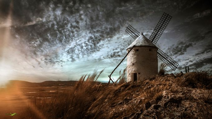 La Mancha by Carlos_Santero - Windmills Photo Contest