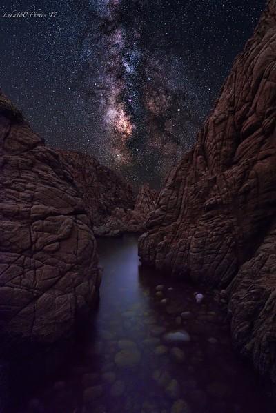 MilkyWay on the rocks