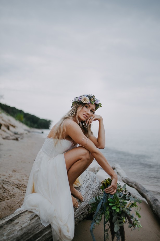 Boho Beauty by kelseyranaesnyder - Here Comes The Bride Photo Contest
