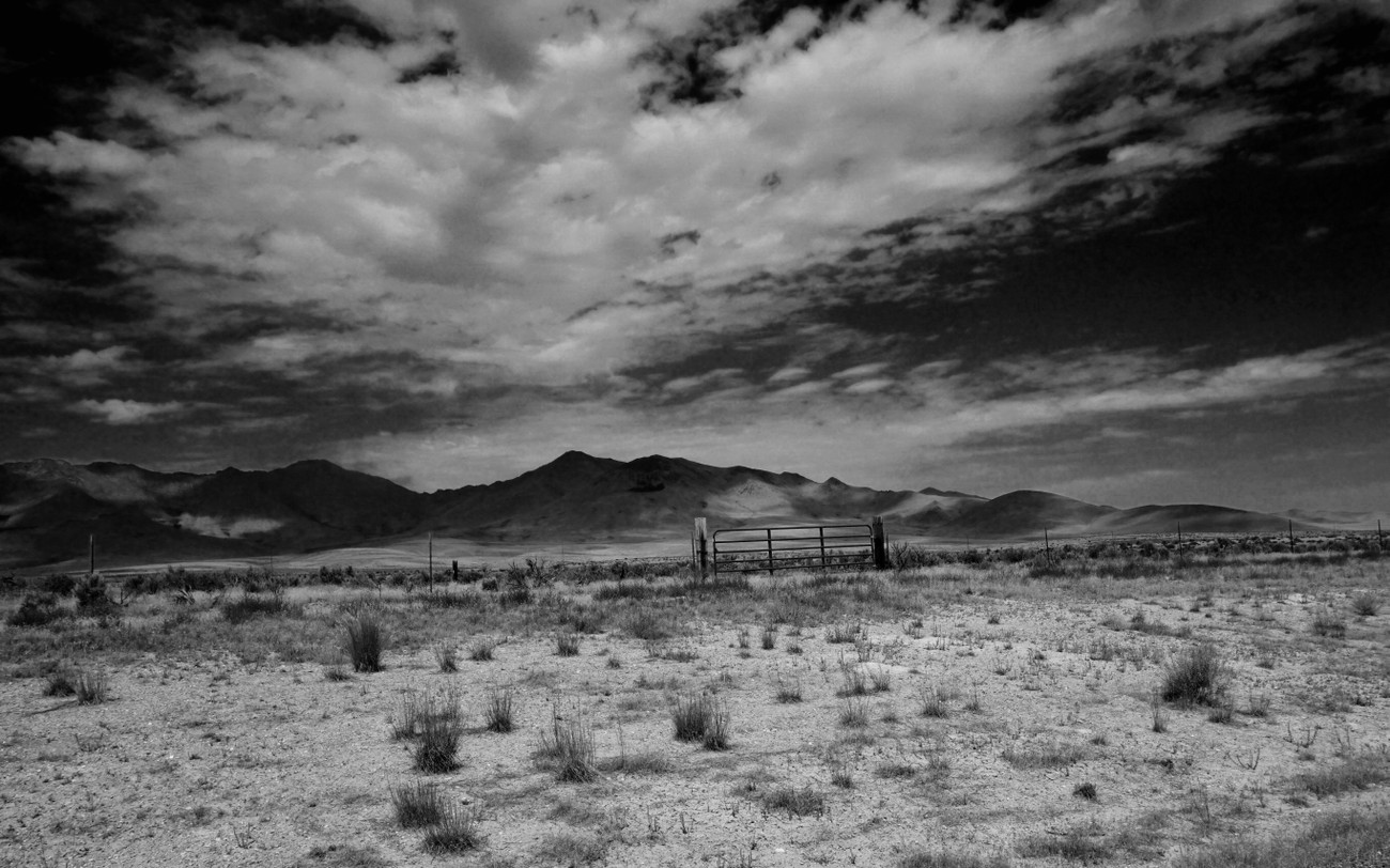 Peaks near the Piut-Shoshone Indian  Reservation in the state of Nevada, USA.  I have visited this area several times in support of a sacred ceremony.  I am always awed by its stark beauty and the peoples' relationship with the land.