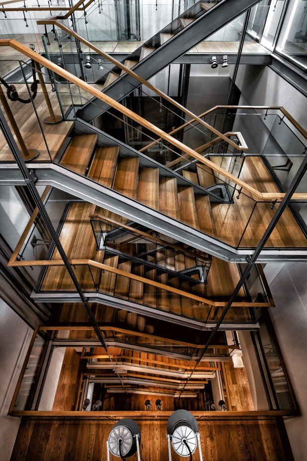 Up & down by fabrizioferraris - Stairways Photo Contest
