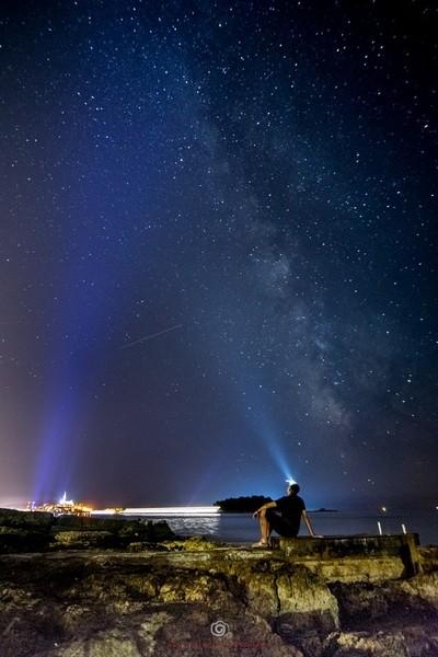 Lighting the Milky Way
