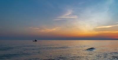 Crabbing @ Sunset