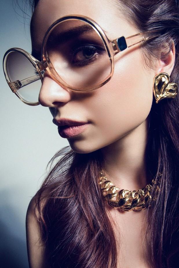 Madame Veronika by ilyablinov - Sunglasses Photo Contest 2017