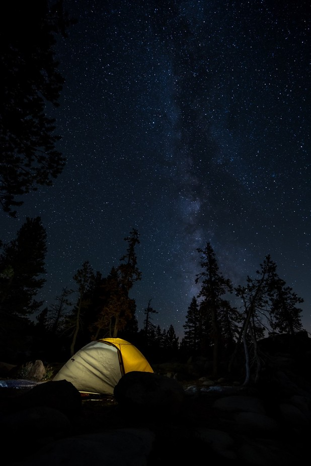 Camping under the Milky Way by benransompics - Outdoor Camping Photo Contest