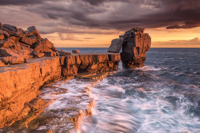 Pulpit Rock At Sunset by RGW-Photography - A Storm Is Coming Photo Contest