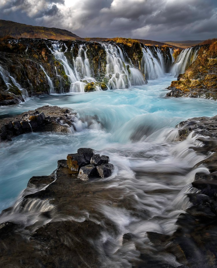 Bruarfoss  by TMAtelier8 - Image Of The Month Photo Contest Vol 26