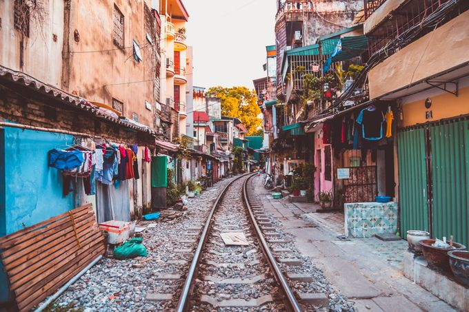 Hanoi by Twoyoungexplorers - Empty Railways Photo Contest
