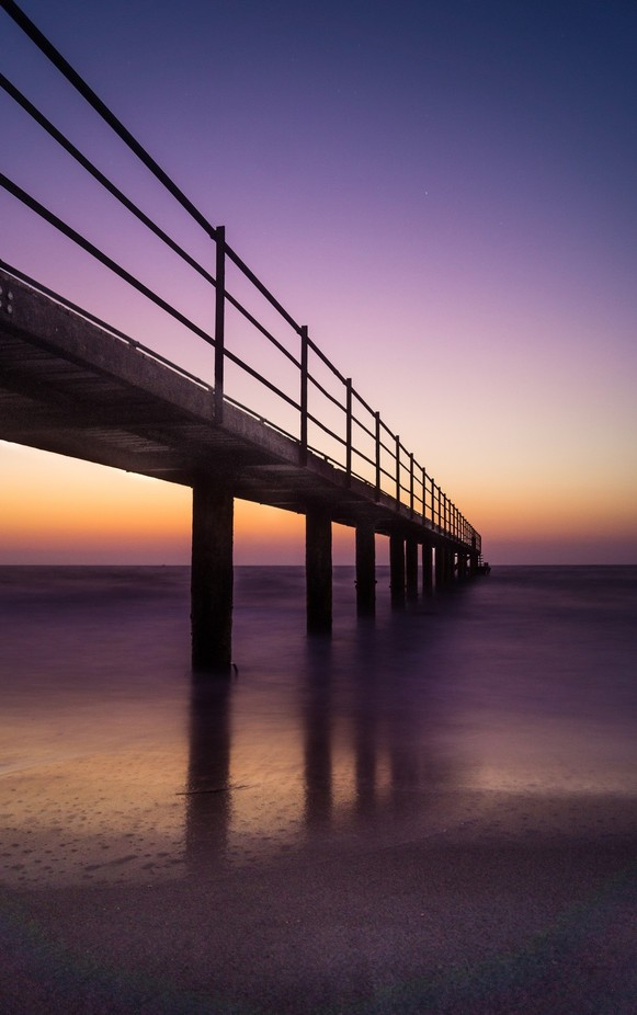 Wonderful Pier by akphotographystudio - Composition And Leading Lines Photo Contest