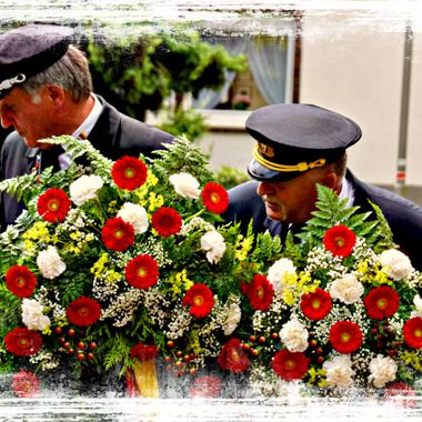 Beautiful Wreaths sad occasion.